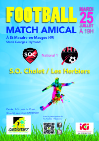 Match amical cholet- les herbiers 2.indd