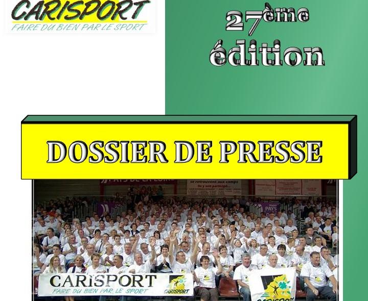 1ère page Dossier de Presse 2018