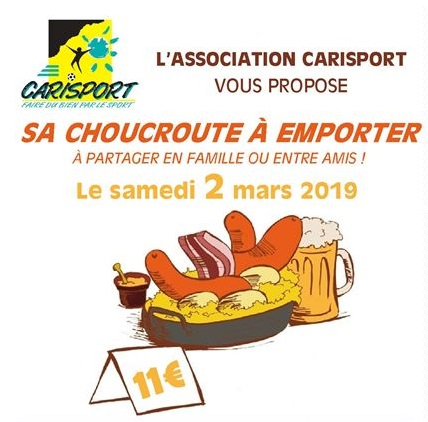 OPERATION CARISPORT - Choucroute  à emporter - Copie