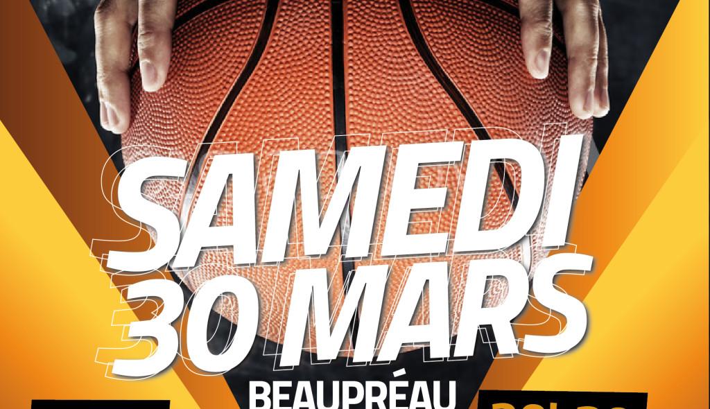 Match handibasket 30 mars